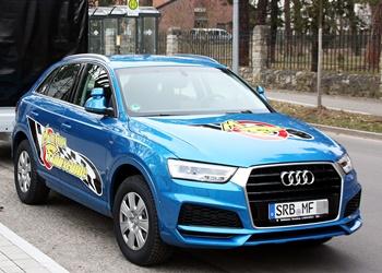 Fahrschulfahrzeug Audi A3