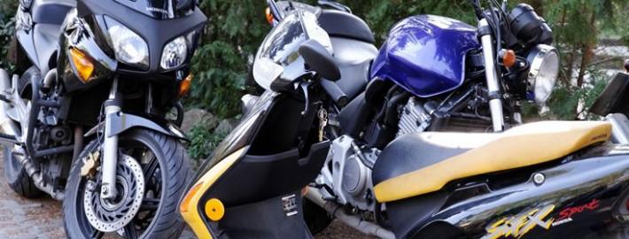 links-motorrad