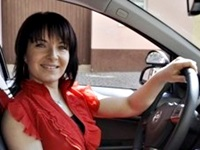 Fahrlehrerin Nicole Freytag in Martin's Fahrschule