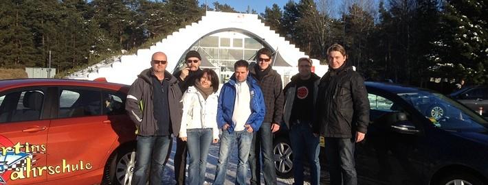 PKW Sicherheitstraining Groß Dölln März 2013