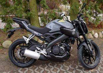 Yamaha MT 125 mit ABS