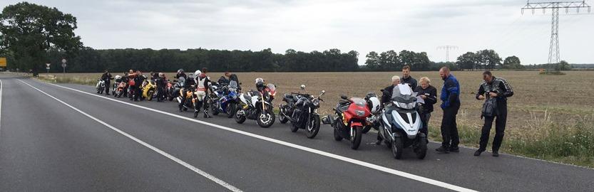 Motorrad Orientierungsfahrt Brandenburg 2016
