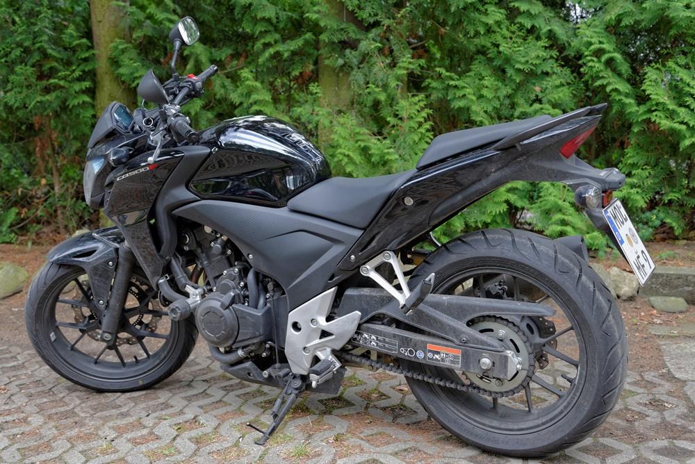 Honda CB 500 F 48 PS (35 KW) Klasse A2 beschränkt